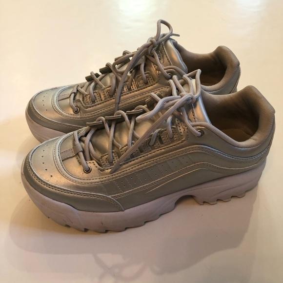 Avia Shoes | Metallic Avia Tennis Shoes